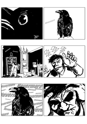 Raven Returns Storyboard 1