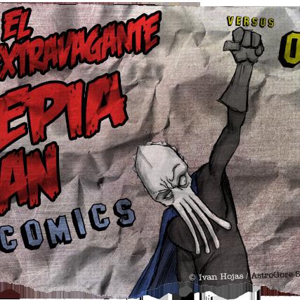 Sepia Man - Cómic 03