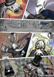 Sepia Man comic 03