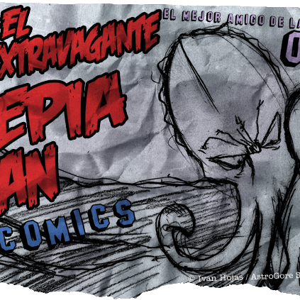 Sepia Man - Cómic 04