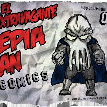 Sepia Man - Cómic 01