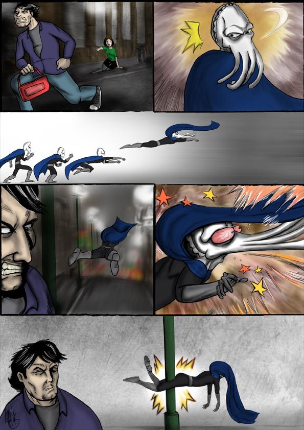 Sepiaman comic 01