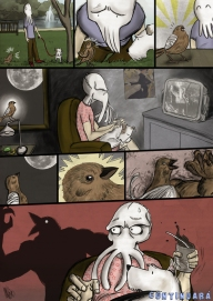 Sepia Man comic 06
