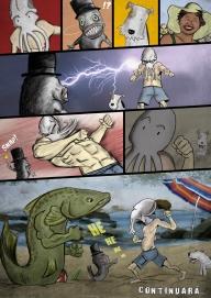Sepia Man comic 08 - 2