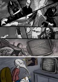 Sepia Man comic 10