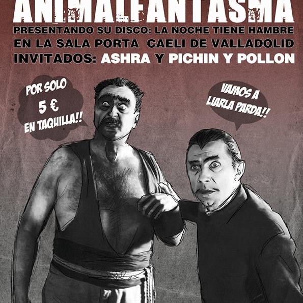Animalfantasma + Ashra + Pichín y Pollón - Bela Lugosi