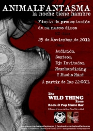 Cartel Animalfantasma Wild Thing