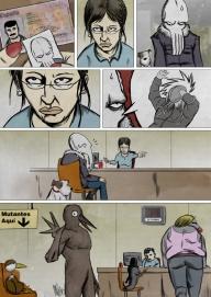 Sepia Man comic 11