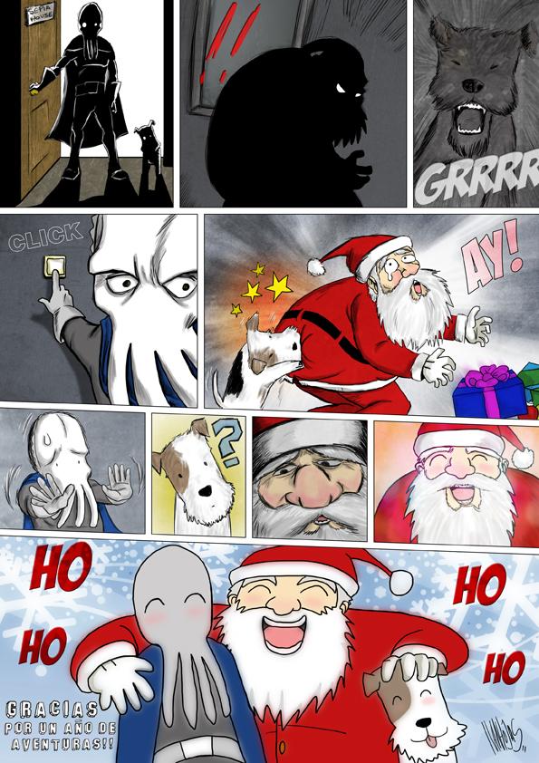 Sepia Man comic 12