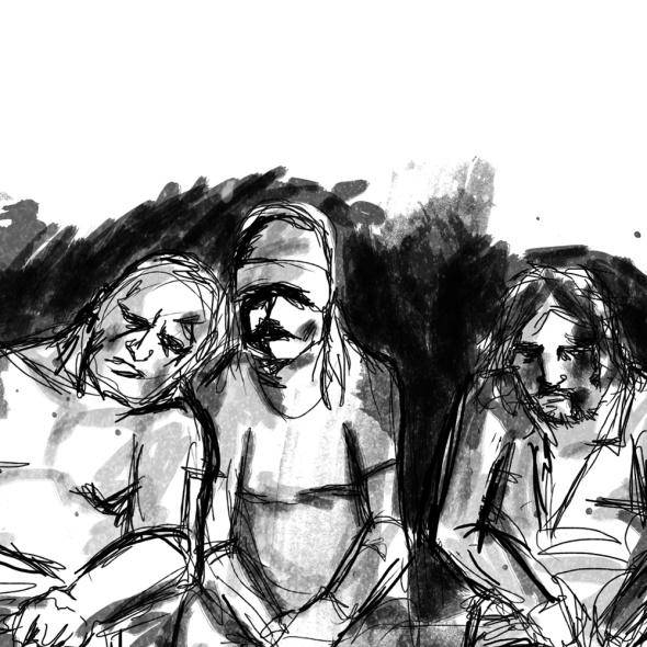 Ilustraciones para Historia de una resaca