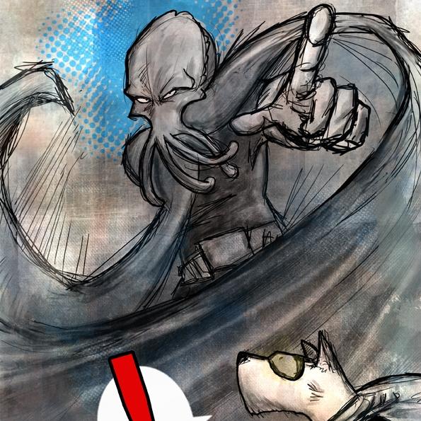 Sepia Man - Cómic