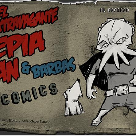 Sepia Man - Cómic 13