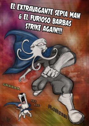Sepia Man Comic 13 - 2