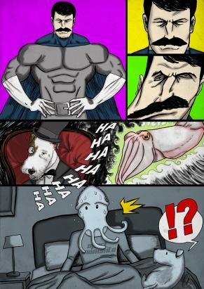 Sepia Man Comic 13 - 1