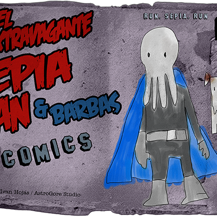 Sepia Man - Cómic 14