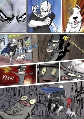 Sepia Man comic 14