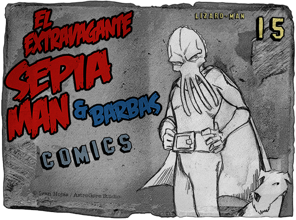 Sepia Man - Cómic 15