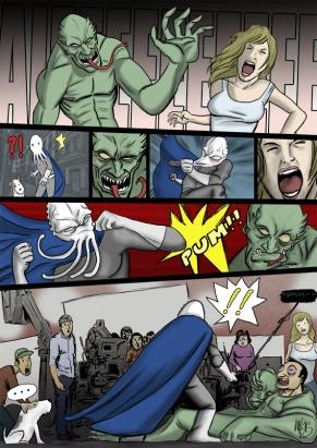 Sepiaman comic 15
