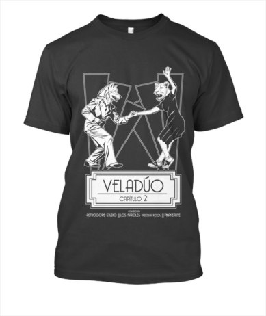 Camiseta Veladúo capítulo 2 color 02