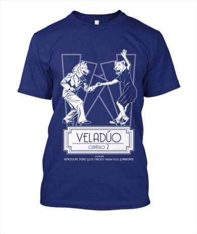 Camiseta Veladúo capítulo 2 color 01