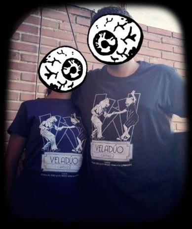 Camisetas Veladúo capítulo 2