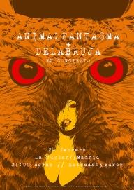 Animalfantasma + Delabruja