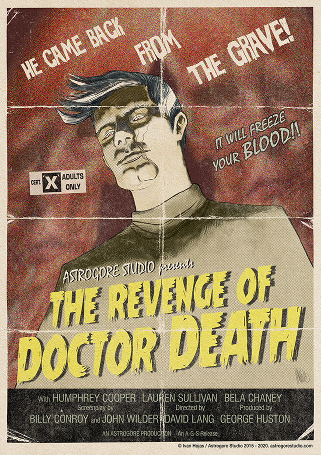 The Revenge of Doctor Death - Poster Redux